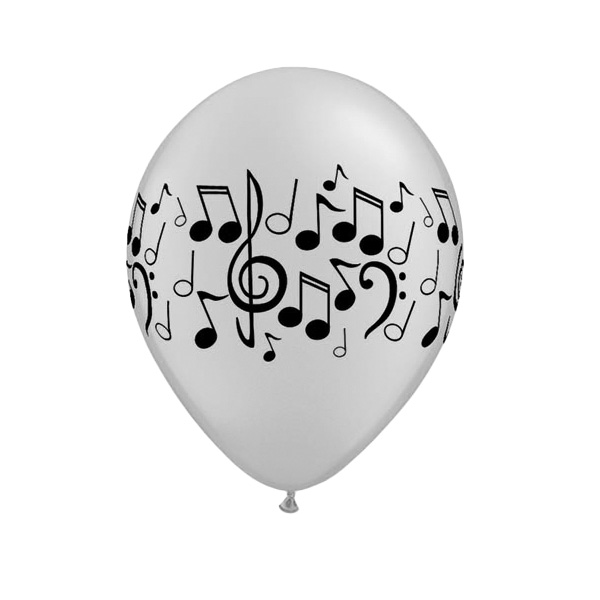 Musical Latex Qualatex Ballon - 11 Zoll / 28 Cm